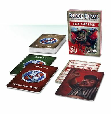 Blood Bowl - Orc Team Card Pack (Deutsch) Games Workshop Football Ork Orks
