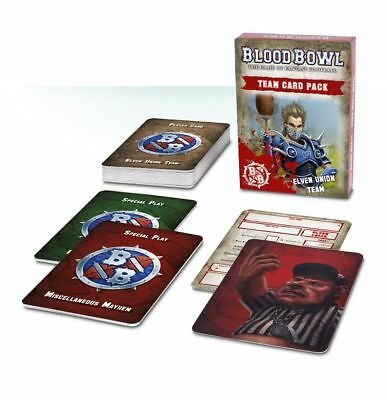 Blood Bowl - Elven Union Team Card Pack (Deutsch) Games Workshop Football Elfen