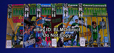 1991 Green Lantern Emerald Dawn II 1 2 3 4 5 6 Full Run First PrintS DC 1 6