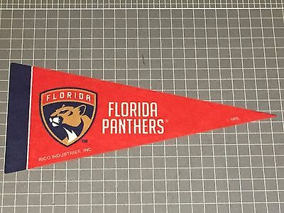 NHL Florida Panthers NEW LOGO Mini Felt Pennant by RICO Industries x 1 Only