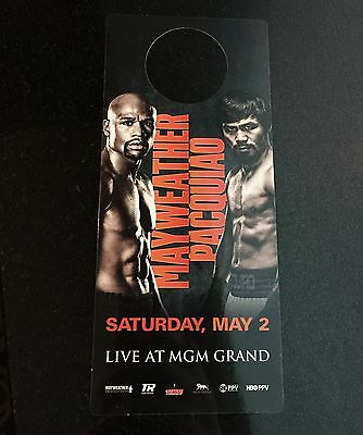 DO NOT DISTURB Sign MGM HOTEL CASINO Vegas ☀5-2-15 MAYWEATHER vs PACQUIAO☀MayPac