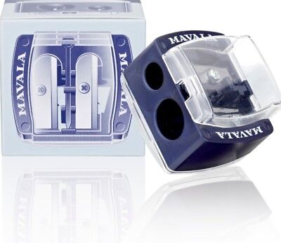 Mavala Cosmetic Pencil Sharpener With Two Double Blades