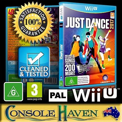 (Wii U Game) Just Dance 2017 / 2K17 / 17 (G) (Music & Dancing) PAL, Guaranteed