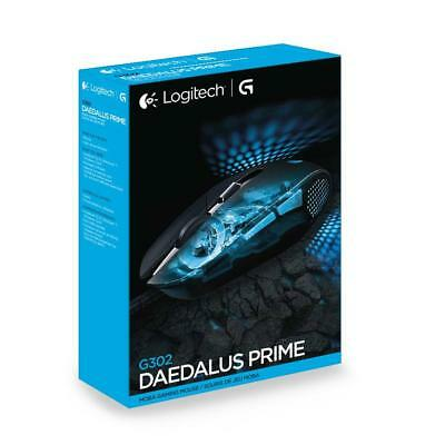 Logitech G302 Daedalus Prime Wired Moba Gaming Mouse - Brand new!