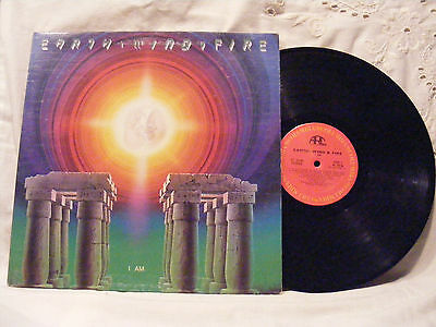 Earth Wind & Fire/I AM (1979) Vinyl LP Record 33 rpm