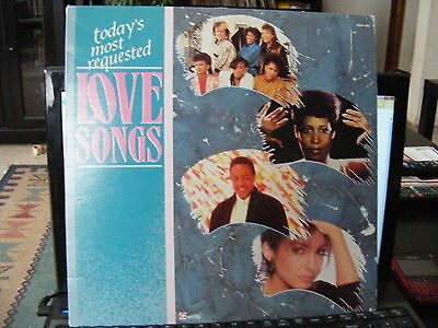 Today's Most Requested Love Songs  (1988)  Vinyl  LP Record 33 rpm