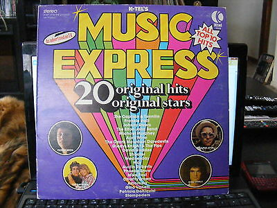 MUSIC EXPRESS  (1975)  Vinyl  LP Record 33 rpm