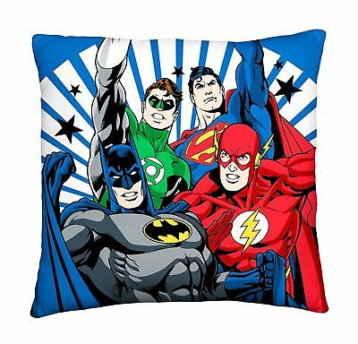 Justice League Inception Batman Boys Kids Bedroom Super Soft Printed Cushion