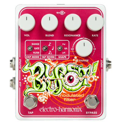 Electro Harmonix Blurst Modulated Filter Effects Pedal for Guitar & Bass