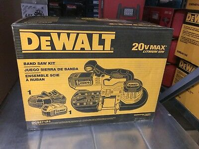 **nip** Dewalt Dcs371P1 20V Max* Lithium Ion Band Saw Kit