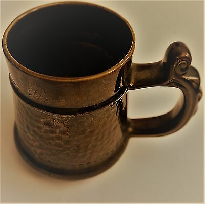 'Prinknash' Pottery Lustre ware Large Tankard in gold