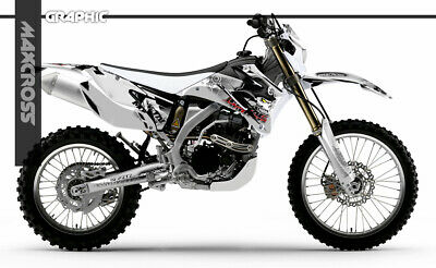 Yamaha Wr250F Wr450F Yz250F Yz450F 2006 2007 2009 Maxcross Graphics Kit Decals0