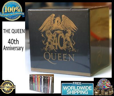 Queen 40th Anniversary Full Collection 30 CD Box Set Album New Limited Edition