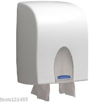 Kimberly Clark Dual Fold Hand Towel Dispenser 09962 White New