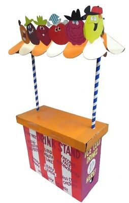 Vintage Funny Face drink stand- Goofy Grape - Pillsbury