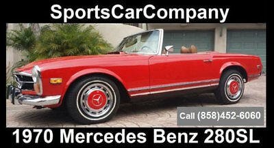 1970 Mercedes-Benz SL-Class  1970 MERCEDES BENZ 280SL ROADSTER SUPERB QUALITY INSIDE&OUT GREAT PRICE $89,998