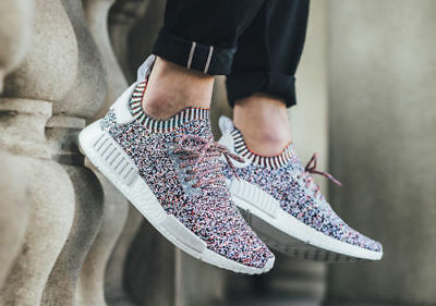 6365eac7d255a Adidas NMD R1 PK Color Static Multi color Size 9.5. BW1126. ultra boost  white