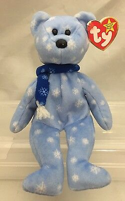 Ty Original Beanie Baby 1999 Holiday Teddy with errors