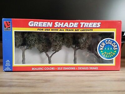 Life Like Green Shade Trees Self Standing Landscape Train Layouts