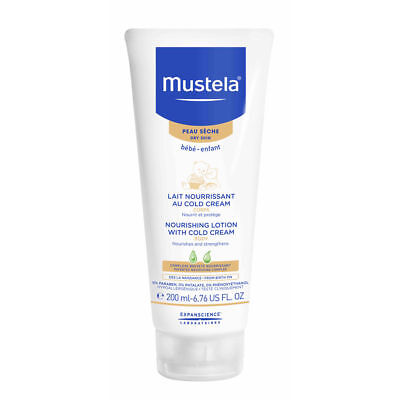 Mustela Nourishing Lotion with Cold Cream for Dry Skin 6.76 oz Brand New