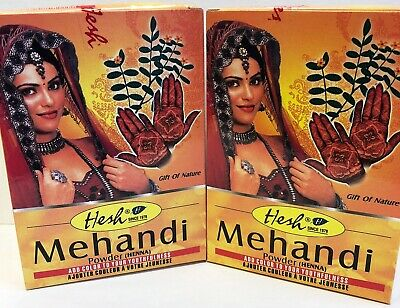 Hesh Mehendi (Henna) Powder 100% Natural 100g X Pack of 2 USA SELLER FAST SHIP