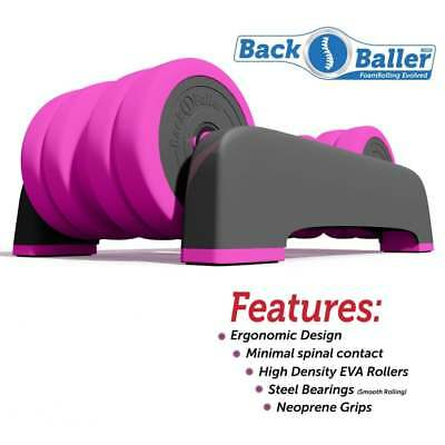 back massager Foam Roller for focused muscle relief (back baller dual mounted)