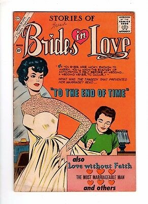 Brides in Love 23 VG/F 5.0 Early Silver Age Romance