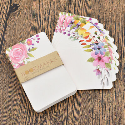 Cute Flower Message Card Wedding Birthday Party Bless Greating Christmas Gift
