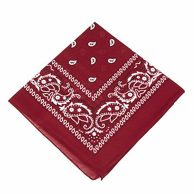 Bandana Scarf with original Paisley pattern in more than 50 colours and design |