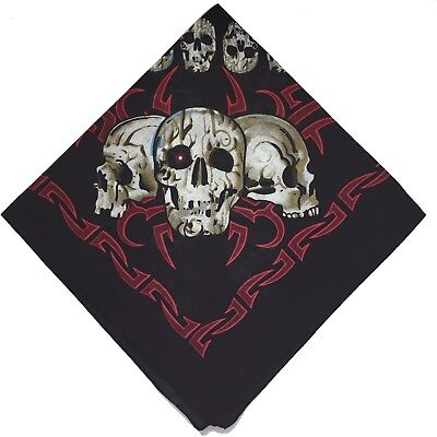 BOOLAVARD 100% Cotton Paisley Bandana Bandanna Headwear/Hair Band Scarf Neck