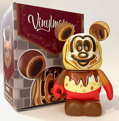 "Disney Vinylmation 3"" Annual Passholder Waffle Mickey Mouse Powder Sugar Variant"