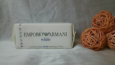 Emporio armani WHITE FOR HIM eau de toilette 50ml spray, descatalogada rare