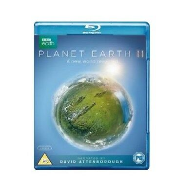 Planet Earth II (Blu-ray Disc, 2017, 2-Disc Set) Free FAST US Shipping 12-24HrSH