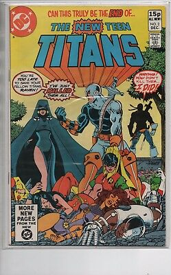 The New Teen Titans #2, 9 & 10 - 1st & 2nd  Appearances Of Deathstroke