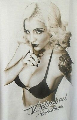 Mens T-Shirt with Bikini Girl with Tattoo (SPECIAL)