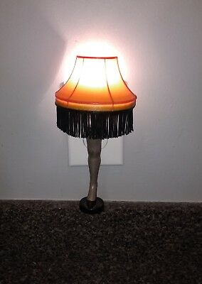 A CHRISTMAS STORY Leg Lamp Night Light (no Box)