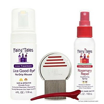 Fairy Tales Lice Good-Bye Survival Kit, 4 Ct