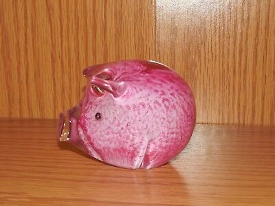 Pink Pig ~ Paper Weight ~ Adorable!!