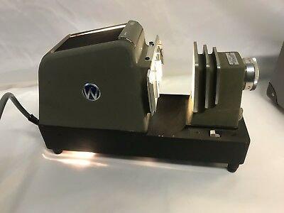 Waterworth 300 Hobart Slide Photo Projector With Carry Case