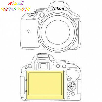Martin Fields Overlay Plus Screen Protector (Nikon D5500/D5300)