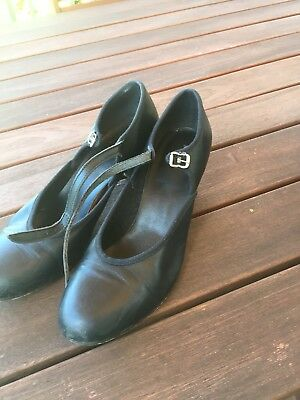 Black Character Shoes Size 9 1/2