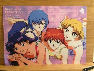"Neon Genesis Evangelion 2-sided 10"" x 7"" pencil board"