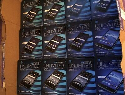 Lot of 10 AT&T Huawei Ascend XT2 smartphone