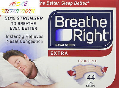 Breathe Right Extra Strong Nasal Strips One Size Fits All