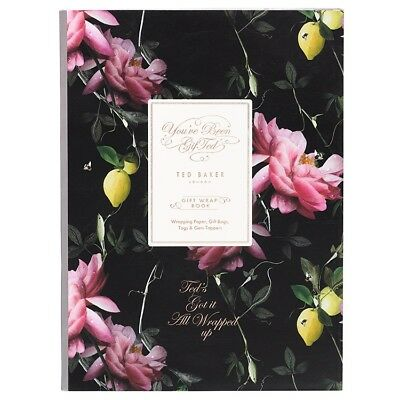 Ted Baker Giftwrap Book - Citrus Bloom