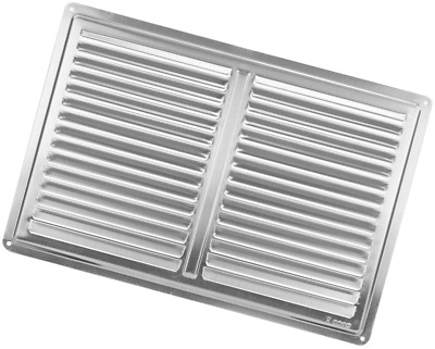 """Stainless Steel Air Vent Grille Cover 300x200 (12x8"""") Ventilation Grill Cover"""