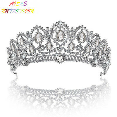 Crown, Tiara, YallFF Prom Queen Crown Quinceanera Pageant Crowns Princess...