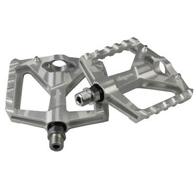 """1 Pair Aluminium Alloy Mountain Road Bike Bicycle Cycling 9//16/"""" Pedals Flat D621"""