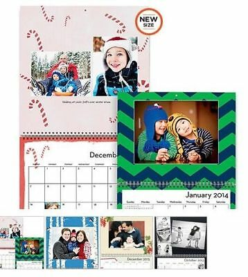 Shutterfly Free 8x11 Wall Calendar Coupon-Code 1/31/18 starts with BK2F