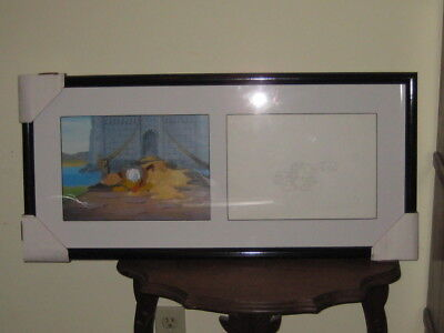 Sealed Animation Art Limited Company Sericel & Drawing Mad Donald Duck W/COA
